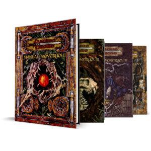 Dungeons & Dragons – 3.5 Edición – Set Manuales Monstruos 2 al 5